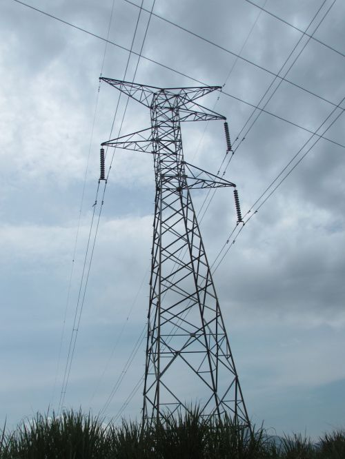electricity tower electrical tower