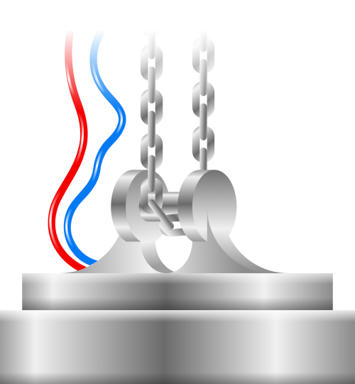 electromagnet crane magnet
