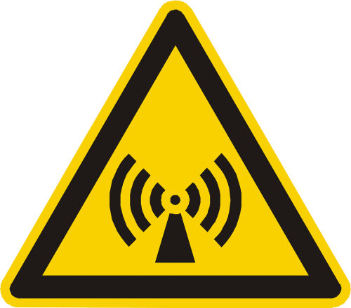 electromagnetic field warning attention