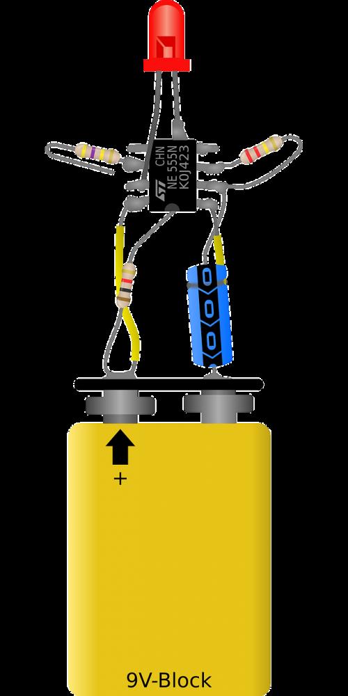electronic flasher blinker