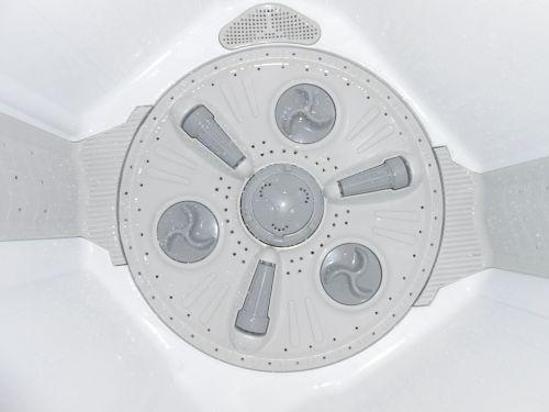 electronic washing machine inner view