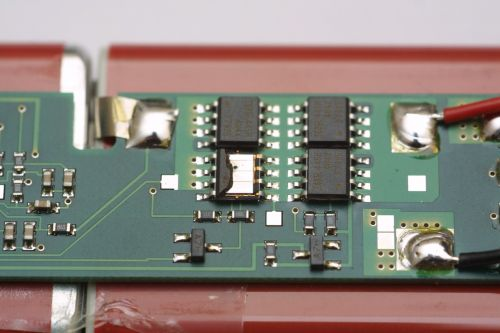 electronics components printed circuit board