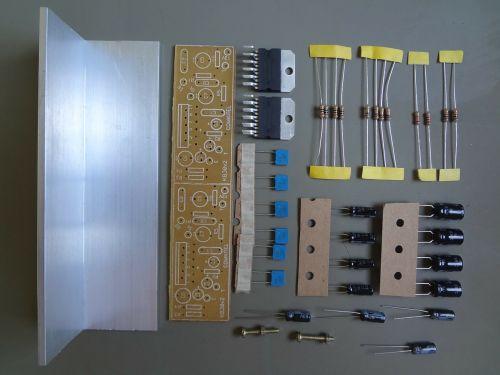 electronics resistors amplifier module