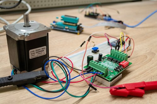 electronics  stepper motor  electrical engineering