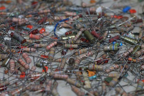 electronics components resistors