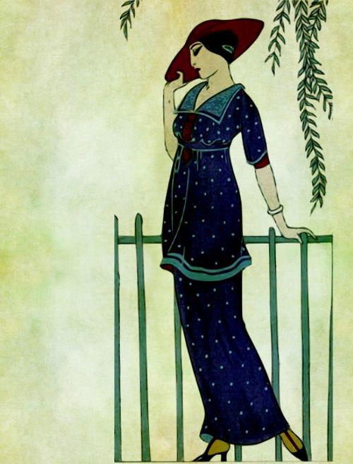 Elegant Vintage Lady
