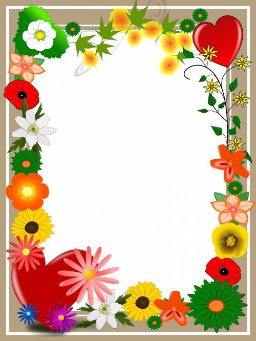 Elegant Card Summer Flower