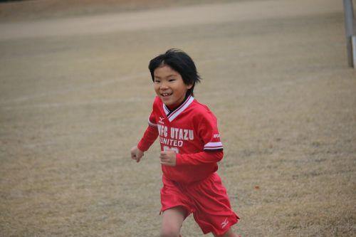 elementary school football boy