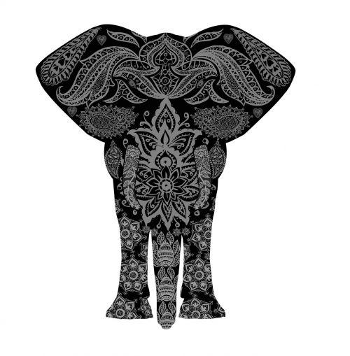 elephant pattern africa
