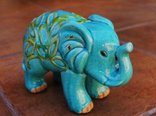 elephant animal ceramic