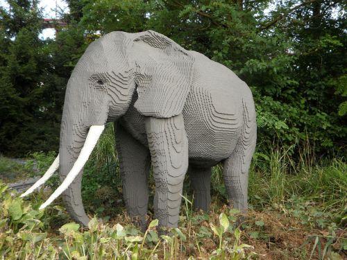 elephant replica sculpture
