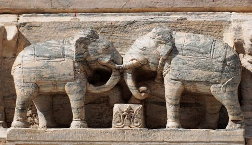 elephant temple architecture