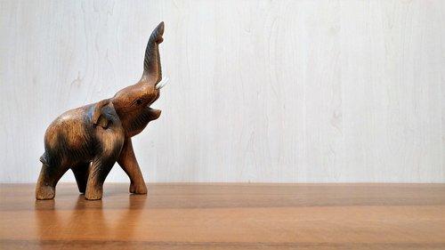 elephant  wood  indian