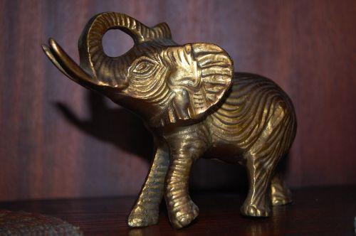 elephant the figurine the statue