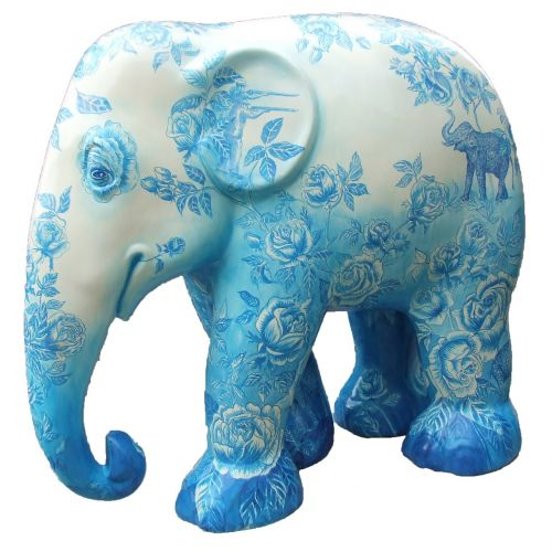 elephant parade trier elephant art