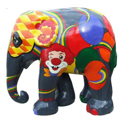 elephant parade trier colourful elephant art