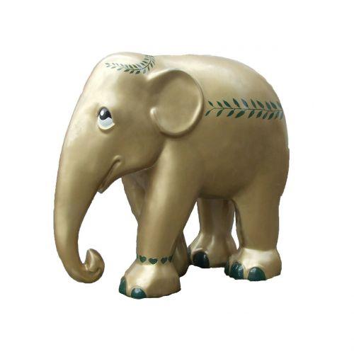 elephant parade trier golden elephant art