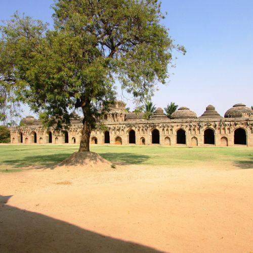 elephants stable hampi india