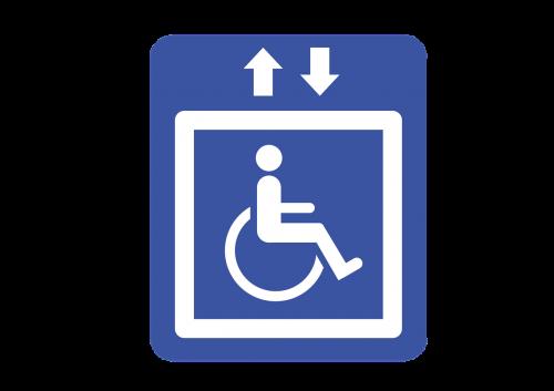 elevator freight elevator handicap