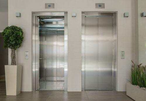 elevators lobby entrance