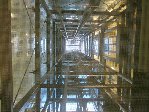 elevator shaft lift
