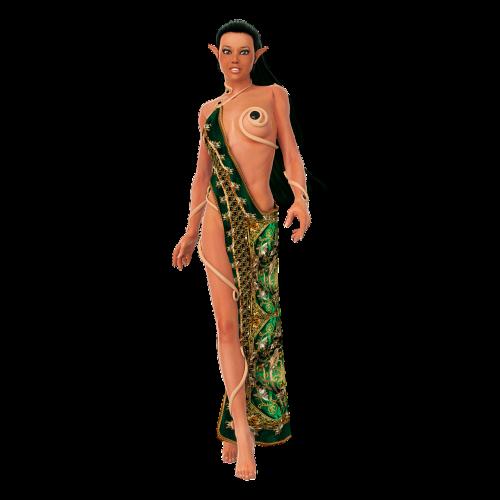 eleven fantasy elves