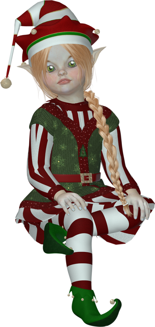 elf elves pixie