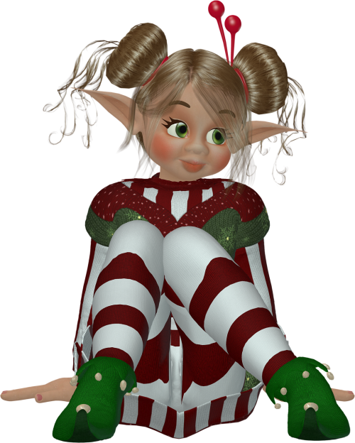 elf elves pixie