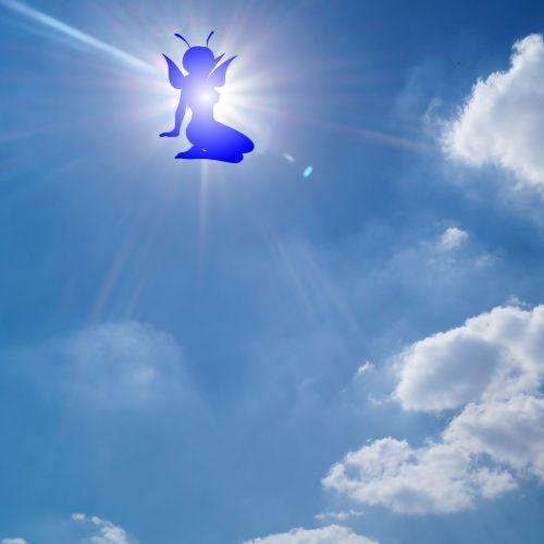 Elf In The Sky