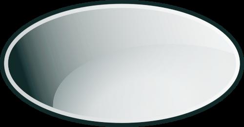 ellipse glass gray
