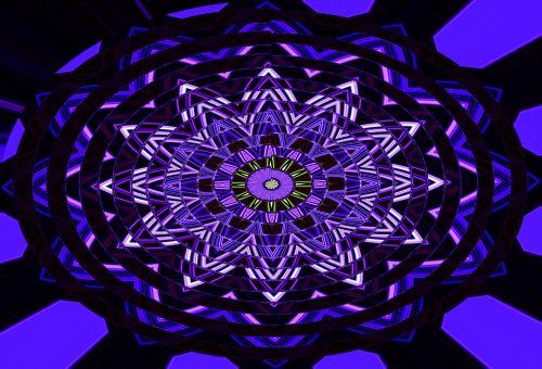 Ellipse Pattern In Blues