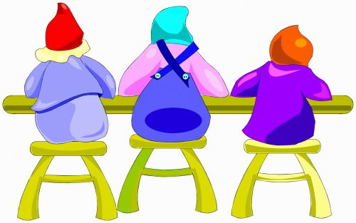 Elves At Table