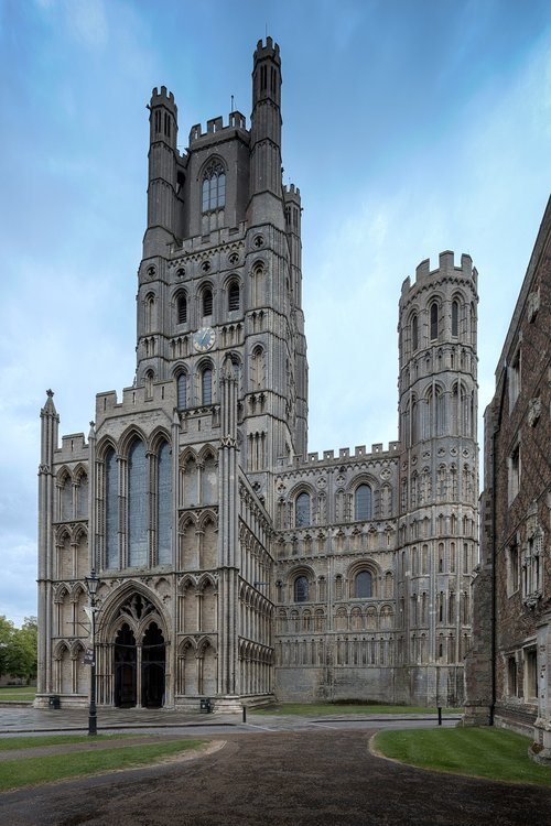 ely cathedral  ely  cathedral