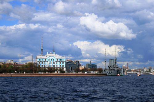 Embankment Of The Neva River