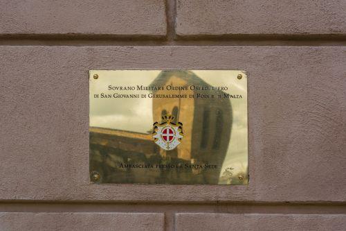 embassy the order of malta rome
