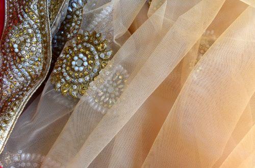 Embellished Fabric 6