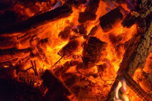 embers fire glow