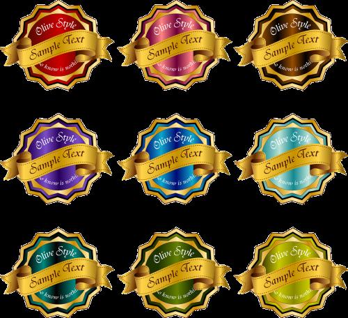 emblem award badge