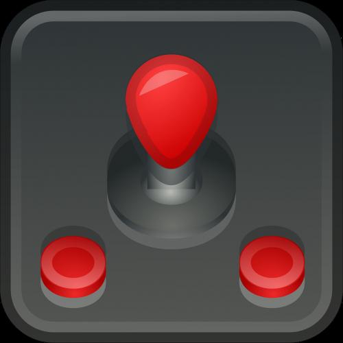 emblem icons joystick