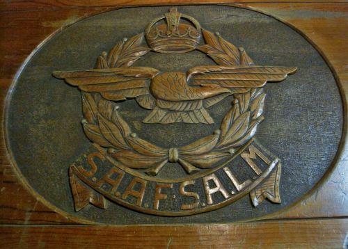Emblem Of Air Force On Kist