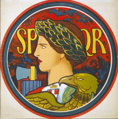 Emblem Of Italy Vintage