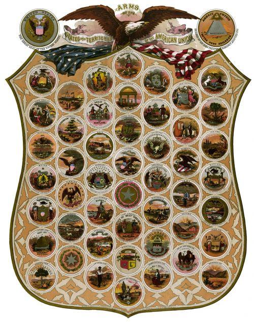 emblems states united states