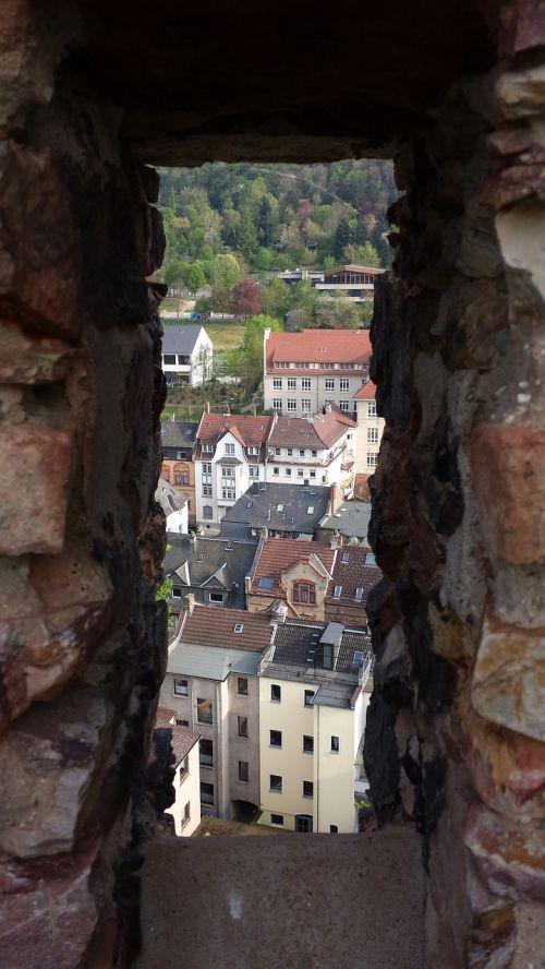 embrasure castle castle wall