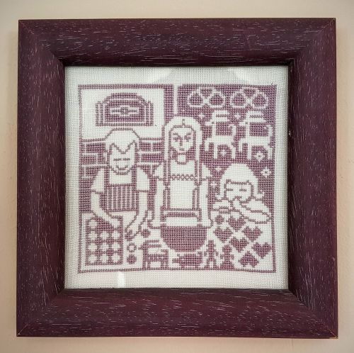 embroidery image frame
