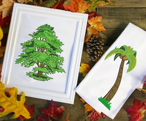 embroidery embroidery designs tree