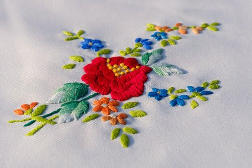 embroidery  embroidered  craft