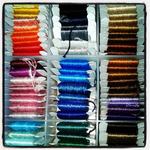 embroidery thread side embroider