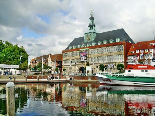 emden town hall ship