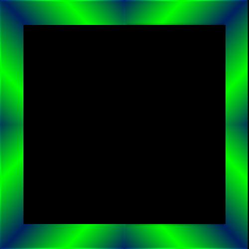 emerald frame border