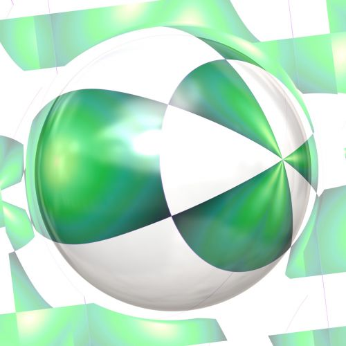 Emerald Dawn Sphere